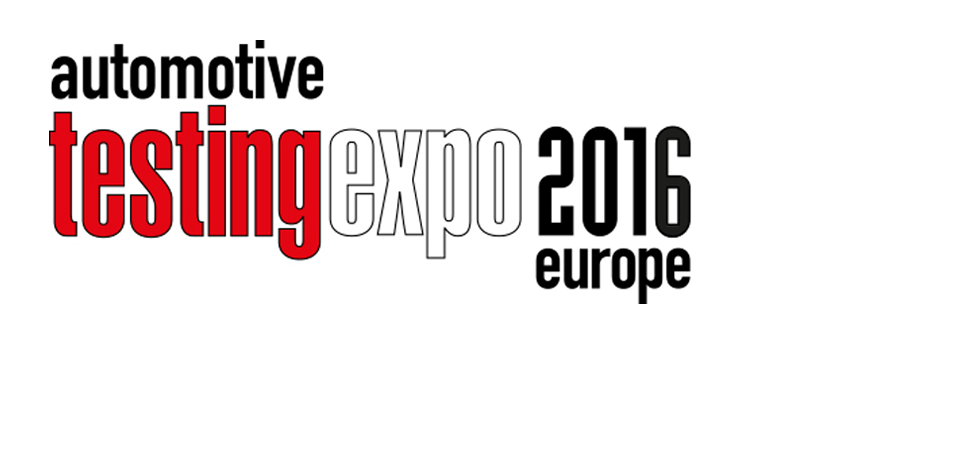 Automotive Testing Expo 2016 Europe