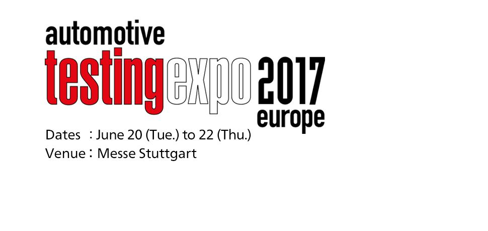 Automotive Testing Expo 2017 Europe