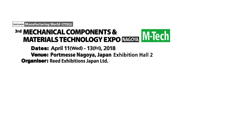 3rd MECHANICAL COMPONENTS & MATERIALS TECHNOLOGY EXPO