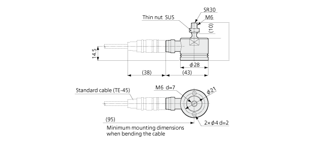 lux compression load cell