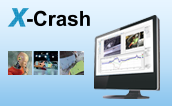 The Analysis System for Vehicle Safety Tests X-Crash