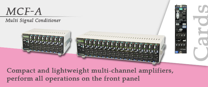 MCF-A Multi Signal Conditioner