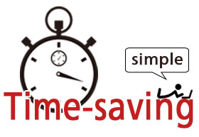 Time-saving and simple