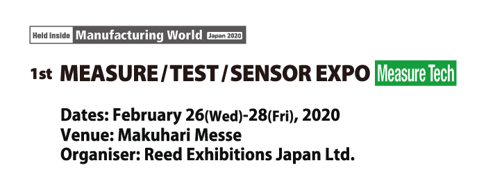 1st Measure/Test/Sensor Expo [MeasureTech]